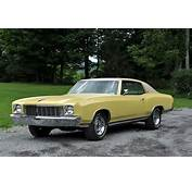 1972 Chevrolet Monte Carlo  Information And Photos