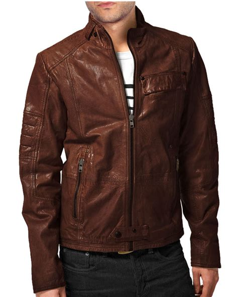 Brown Leather Jackets Jackets