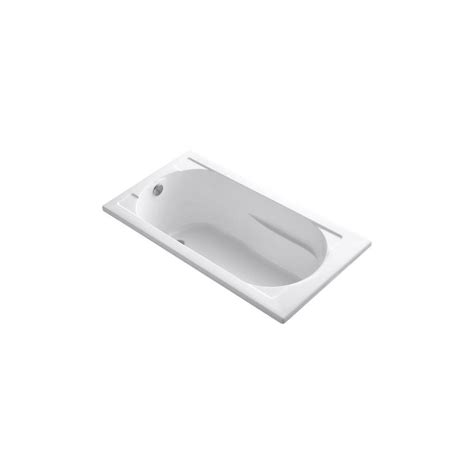 Kohler Devonshire Bathtub by Kohler Devonshire 5 Ft Reversible Drain Bathtub In White