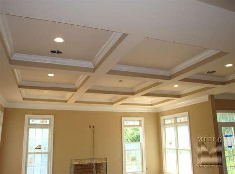 Coffered Ceiling Construction by Coffered Ceiling