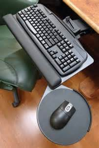 ergonomic adjustable keyboard trays and ergonomic
