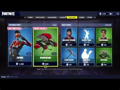 fortnite item shop 15 may 2018