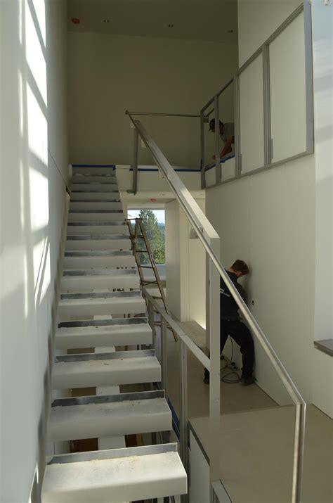 detail interior stair home building  vancouver