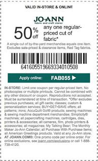 fabric depot printable coupon joann fabrics printable coupons july 2017 retail store
