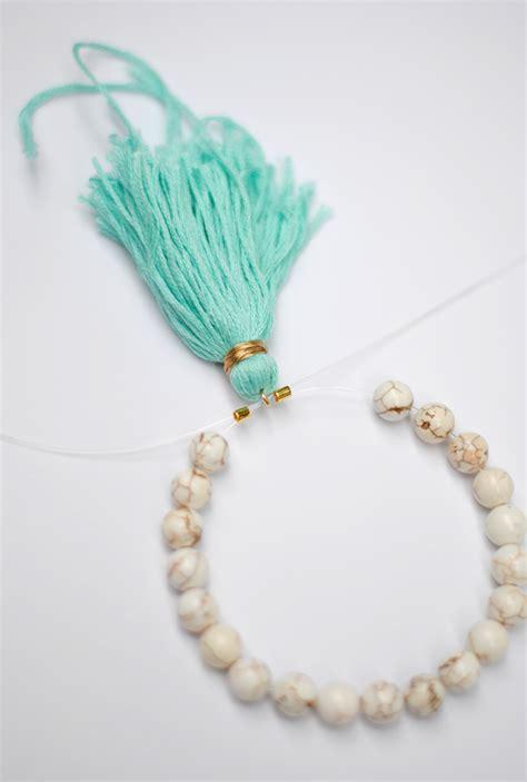 beaded tassels southern curls pearls diy beaded tassel bracelets