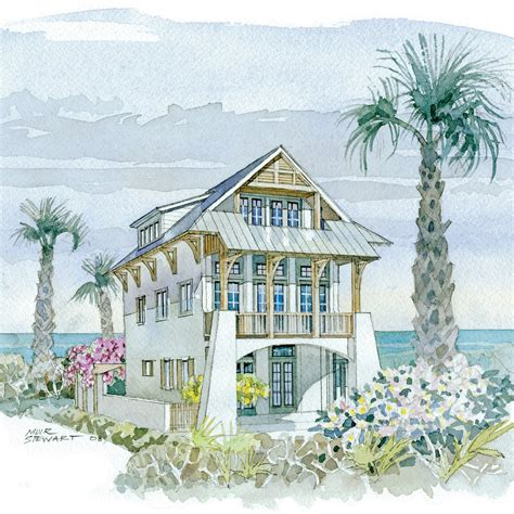 waterfront villa top 25 house plans coastal living