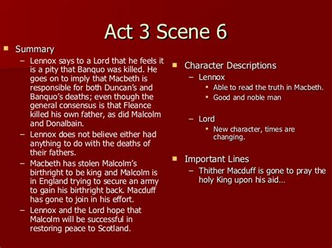 themes of macbeth act 3 macbeth act 3 notes