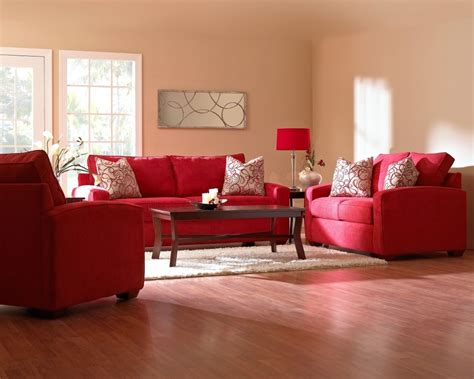 living room with red sofa appealing white and red living room interior themes with fabric sofa on rugs as well curtain