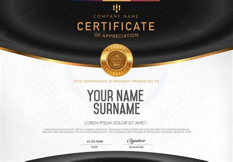 indesign certificate template 10 blank certificate template psd word eps and indesign