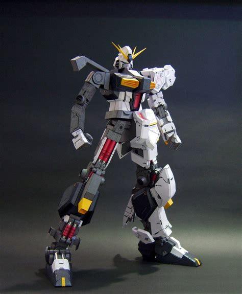 Paper Craft Gundam - gundam gundam papercraft rx 93 nu gundam