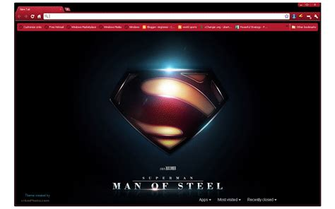 theme google chrome manchester city man of steel chrome web store
