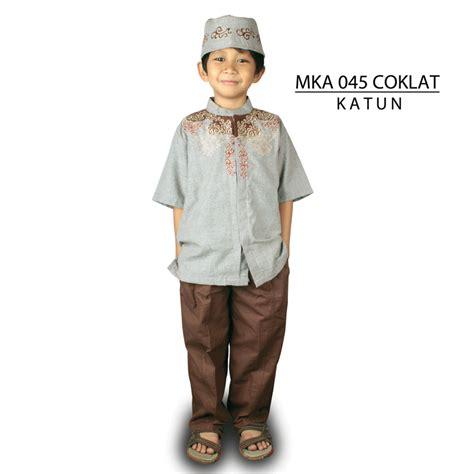 Baju Muslim Anak 2 4 Tahun Pmb160 mka 045 2 4 tahun baju muslim anak laki laki elevenia