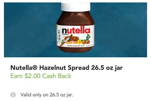 nutella coupons december 2018