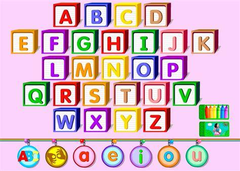 imagenes del alfabeto ingles aprende el abecedario en ingl 233 s con este divertido juego