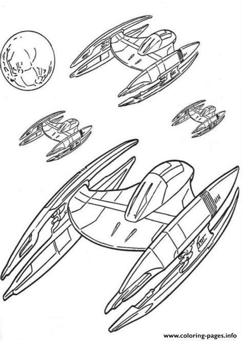 Spaceship Coloring Pages To Print by Wars Spaceships Coloring Pages Printable
