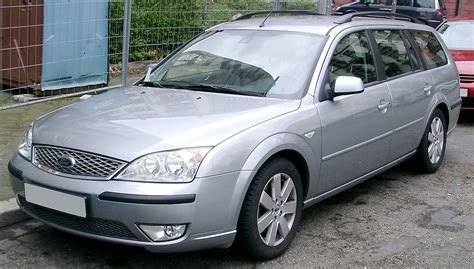 ford mondel ford mondeo second generation