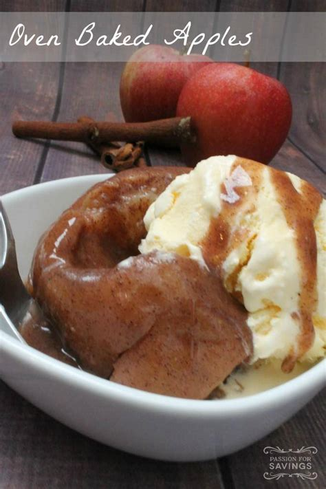 baked apples recipe dishmaps