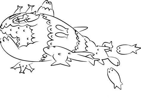 Coloriage Froussardine Banc Pokemon 224 Imprimer Dessin Imprimer De Pokemon L