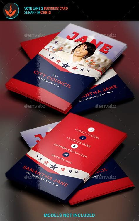 political business card templat 13 best free political caign flyer templates images on
