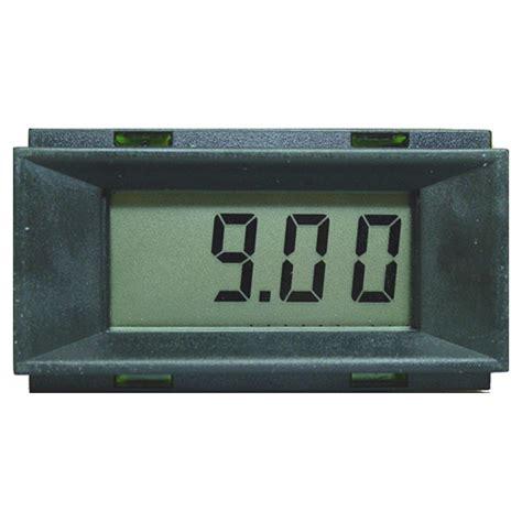Panel Meter New 3 1 2 Digit Lcd Panel Meter Pm128a Digital Panel