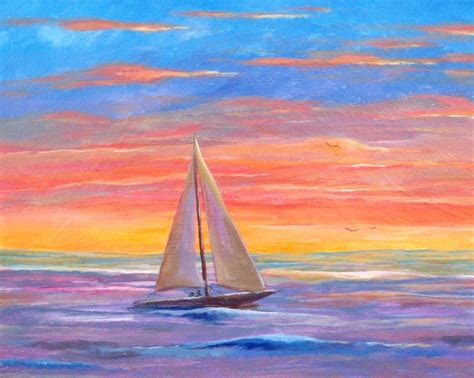 boat canvas ta paint and sip event at the meyersville inn sailboat