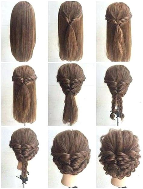 Formal Hairstyles For Medium Hair Easy by Easy Formal Hairstyles For Medium Hair Step By Hairstyles