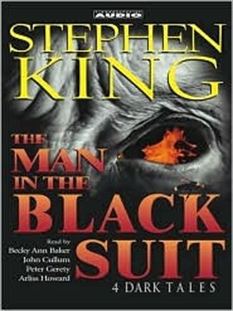 the in the black suit 4 tales by stephen king