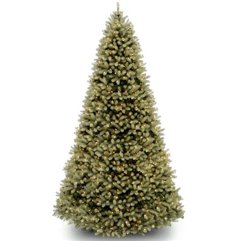 home depot 9 foot douglas fir artificial treee national tree company 9 ft feel real downswept douglas fir hinged tree with 1200 clear lights