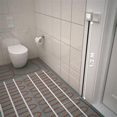 Tapis Sur Plancher Chauffant by Plancher Chauffant Electrique Cable Kit Matt 120w M 178