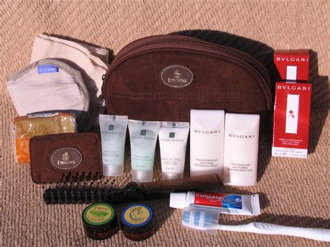Travel Kit Bvlgari Edition From Emirates Airlines amenity kit review emirates class s version frequently flying