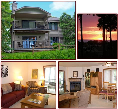 Door County Condo Rentals by Awesome Sunset Condo Door County Lighthouse Inn Door