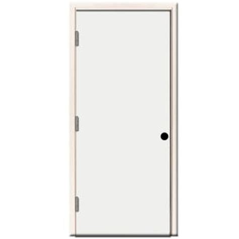 24 Inch Exterior Door Home Depot Steves Sons 32 In X 80 In Premium Flush Primed White Left Outswing Steel Prehung Front