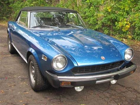 1978 fiat spider for sale classiccars cc 728395