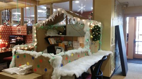 cubicle holiday decorating contest themes roost announces winners of cubicle decorating contest regional office of sustainable tourism