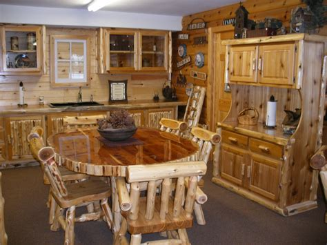 Dining Room Farm Tables by The Log Furniture Company