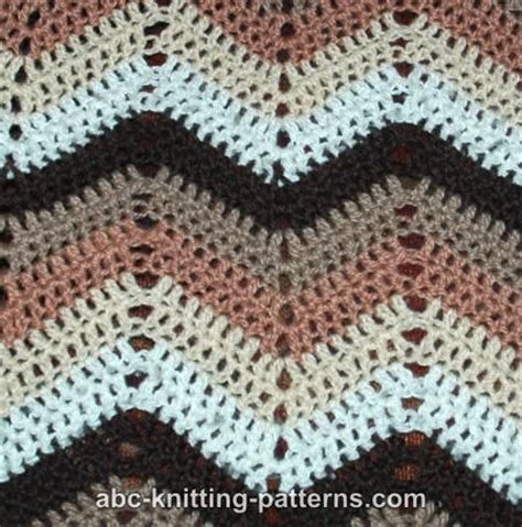 free pattern ripple afghan ripple pattern afgan crochet free crochet patterns