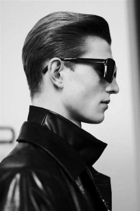 Slick Back Hairstyle by 15 Slick Back Hair Mens Hairstyles 2018