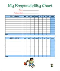 Chore List Template by 7 Chore Chart Templates Free Word Excel Pdf