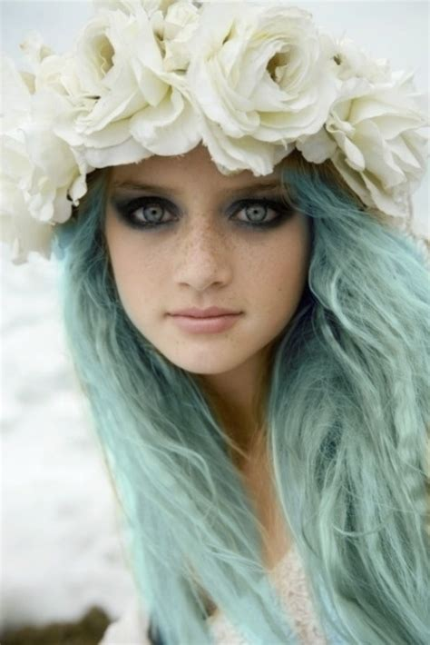 pretty colored hair colorful wig brings yourself a beautiful day l email