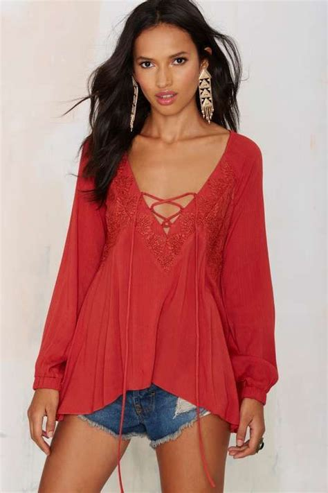 Keira Top Lace Blouse Hijaber rumours lace up top thanks it s new clothes clothing and fashion blouses