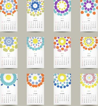 Vector Graphics Calendar
