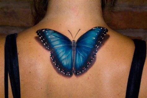 best butterfly tattoo ever 3d blue butterfly tattoo tattoos for women best