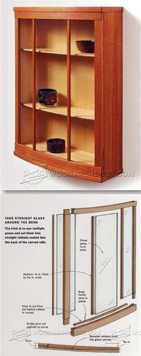 curved cabinets made easy door jigs click the image for a larger version