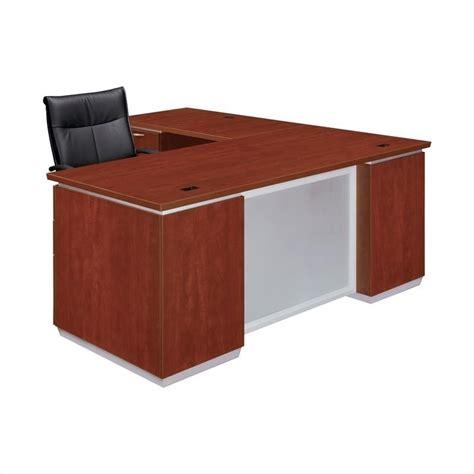 Flat Pack Computer Desk Dmi Pimlico Laminate Executive 72 In Left L Shaped Desk Flat Pack 7020 48fp