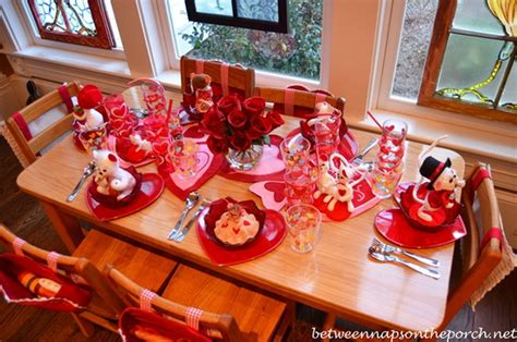 valentine s day table setting ideas family