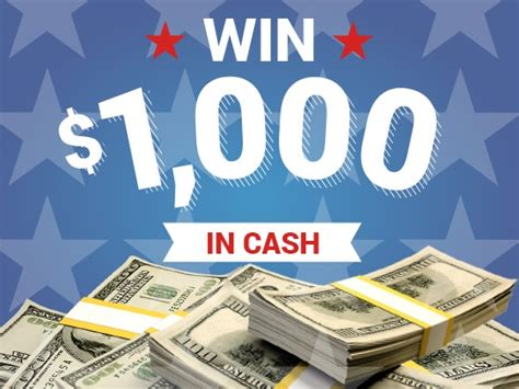 Cash Sweepstakes Ending Soon - win 1000 in free cash sweepon com