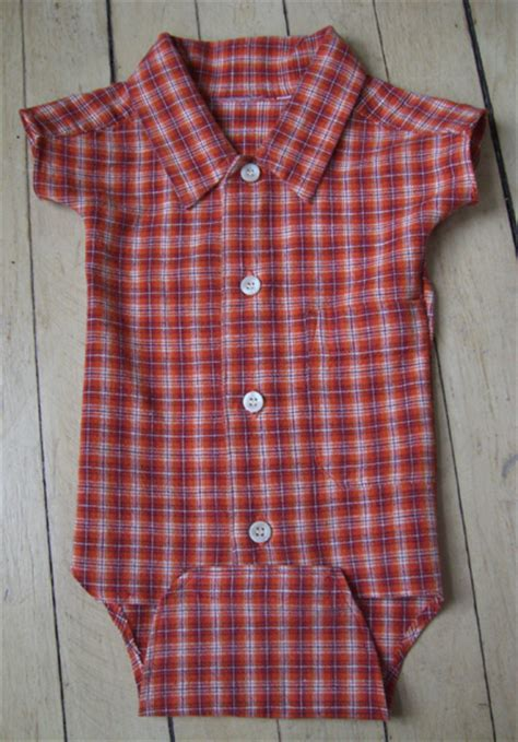 shirt onesie pattern boy s shirt recycled as baby onesie sewing projects