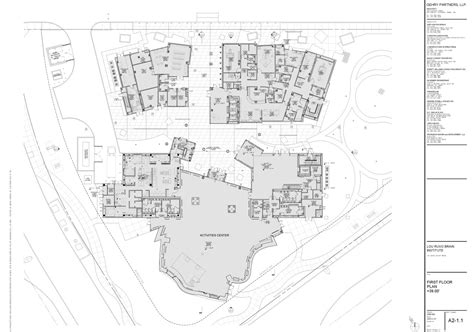 frank gehry floor plans cleveland clinic lou ruvo center for brain health by frank