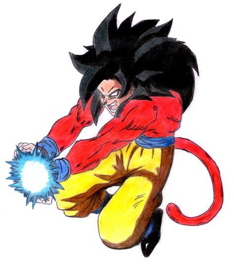 imagenes de goku ssj 4 dibujos anime 05 30 12