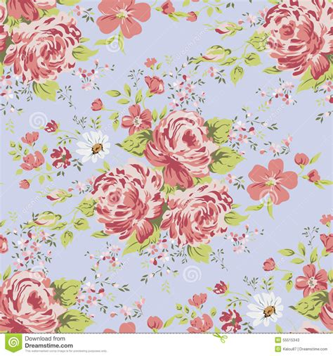 Floral Flowers by Pink Vintage Floral Wallpaper Wallpaperhdc